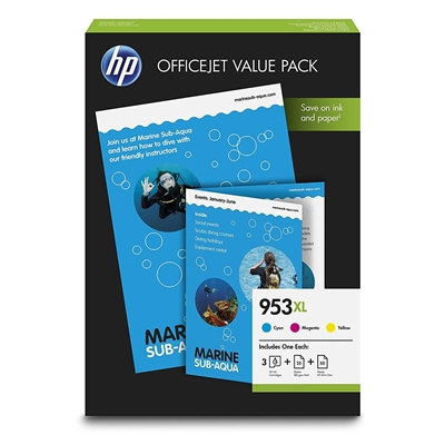 Εικόνα της Officejet Value Pack No 953XL HP και 75 Φύλλα A4 210 X 297 mm 1CC21AE