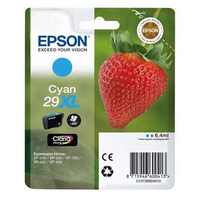 Εικόνα της Μελάνι Epson T2992 Cyan XL C13T29924010