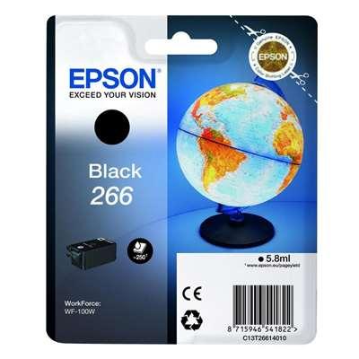 Εικόνα της Μελάνι Epson 266 Black 5.8ml C13T26614010