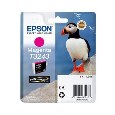 Εικόνα της Μελάνι Epson T3243 Magenta 14ml C13T32434010