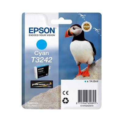 Εικόνα της Μελάνι Epson T3242 Cyan 14ml C13T32424010