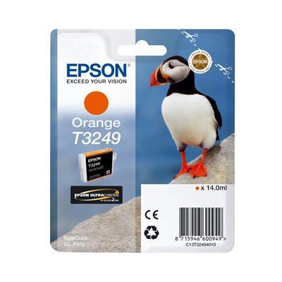 Εικόνα της Μελάνι Epson T3249 Orange 14ml C13T32494010