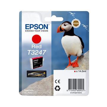 Εικόνα της Μελάνι Epson T3247 Red 14ml C13T32474010
