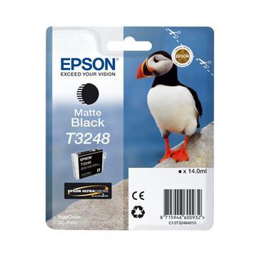 Εικόνα της Μελάνι Epson T3248 Matte Black 14ml C13T32484010