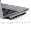Εικόνα της Satechi Type-C Pro Hub 4K 2018 Macbook Pro 15'' & 13'' Space Gray ST-CMBPM