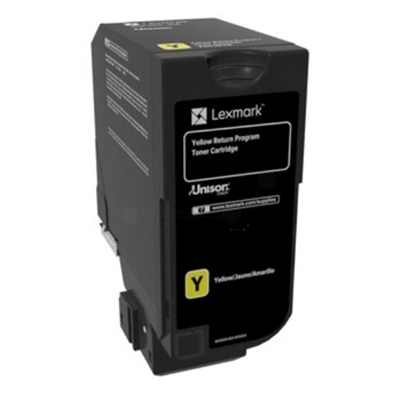 Εικόνα της Toner Lexmark CS720 / CS725 / CX725 Yellow 74C20Y0
