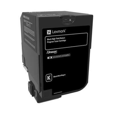 Εικόνα της Toner Lexmark CS720 / CS725 / CX725 Black HC 74C2HK0