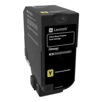 Εικόνα της Toner Lexmark CS720 / CS725 / CX725 Yellow HC 74C2HY0