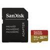 Εικόνα της Κάρτα Μνήμης MicroSDHC Class 10 V30 A1 Sandisk Extreme 32GB + SD Adapter SDSQXAF-032G-GN6MA