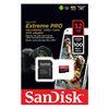 Εικόνα της Κάρτα Μνήμης MicroSDHC V30 UHS-I U3 A1 Sandisk Extreme PRO 32GB + SD Adapter SDSQXCG-032G-GN6MA