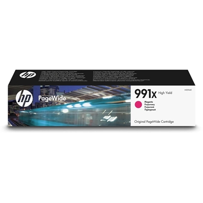 Εικόνα της Μελάνι PageWide HP No 991X Magenta HC M0J94AE