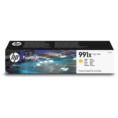 Εικόνα της Μελάνι PageWide HP No 991X Yellow HC M0J98AE