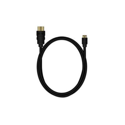 Εικόνα της Καλώδιο MediaRange HDMI/Mini HDMI High Speed with Ethernet 1.5m Black MRCS165