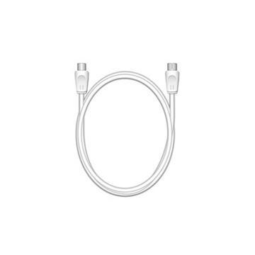 Εικόνα της Καλώδιο MediaRange Antenna Coax Plug-Coax Socket 75 Ohm 1.5m White MRCS162