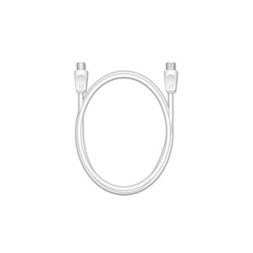 Εικόνα της Καλώδιο MediaRange Antenna Coax Plug-Coax Socket 75 Ohm 3m White MRCS163
