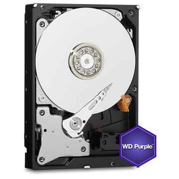 """Εικόνα της Εσωτερικός Σκληρός Δίσκος Western Digital Purple 1TB 3.5"""" WD10PURZ"""