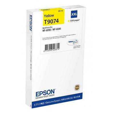 Εικόνα της Μελάνι Epson T9074 Yellow XXL C13T907440
