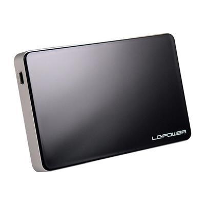 Εικόνα της Θήκη για Εξωτερικό Σκληρό Δίσκο 2.5'' LC Power USB 3.0 Black LC-25U3B-ELEKTRA
