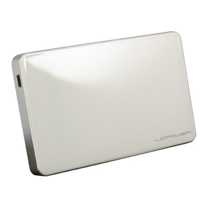 Εικόνα της Θήκη για Εσωτερικό Σκληρό Δίσκο 2.5'' LC Power USB 3.0 White LC-25U3W-ELEKTRA