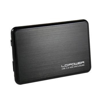 Εικόνα της Θήκη για Εσωτερικό Σκληρό Δίσκο 2.5'' LC Power USB 3.0 Black-Silver LC-25BUB3