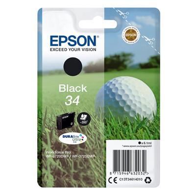 Εικόνα της Μελάνι Epson 34 Black C13T34614010