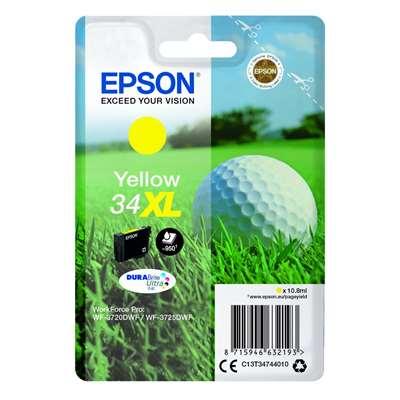 Εικόνα της Μελάνι Epson 34XL Yellow C13T34744010