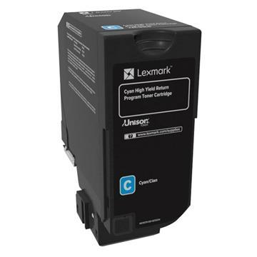 Εικόνα της Toner Lexmark CS720 / CS725 / CX725 Cyan HC 74C2HC0