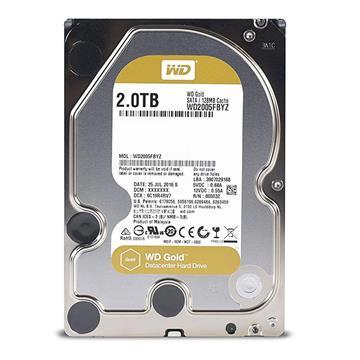 Εικόνα της Εσωτερικός Σκληρός Δίσκος Western Digital Gold Datacenter 2TB 3.5'' WD2005FBYZ