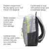 Εικόνα της Τσάντα Notebook 15.6'' HP Active Backpack Grey,Yellow 1LU23AA