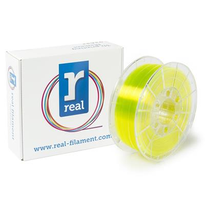 Εικόνα της Real PETG Filament 1.75mm Spool of 0.5Kg Translucent Yellow