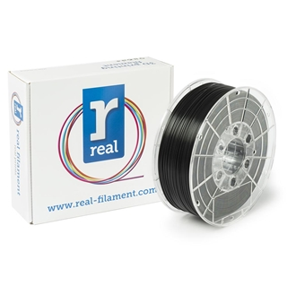 Εικόνα της Real PLA Filament 1.75mm Spool of 0.5Kg Black