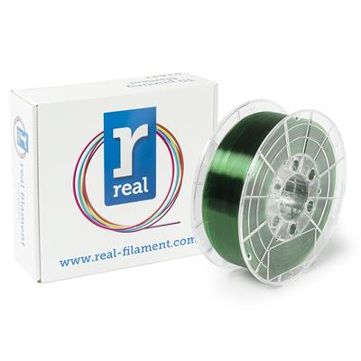 Εικόνα της Real PETG Filament 1.75mm Spool of 0.5Kg Translucent Green