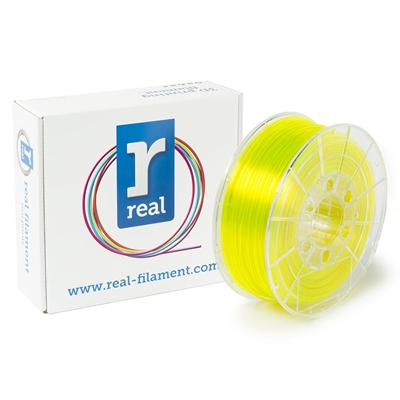 Εικόνα της Real PETG Filament 2.85mm Spool of 0.5Kg Translucent Yellow