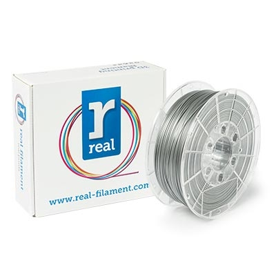 Εικόνα της Real PLA Filament 1.75mm Spool of 0.75Kg Satin Silver
