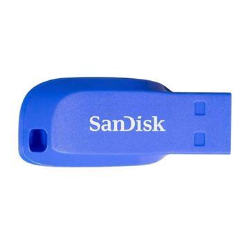 Εικόνα της SanDisk Cruzer Blade 16GB Electric Blue SDCZ50C-016G-B35BE