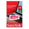 Εικόνα της SanDisk Cruzer Blade 16GB Electric Pink SDCZ50C-016G-B35PE