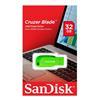 Εικόνα της SanDisk Cruzer Blade 32GB Electric Green SDCZ50C-032G-B35GE