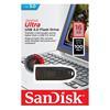 Εικόνα της SanDisk Ultra USB 3.0 16GB Black SDCZ48-016G-U46