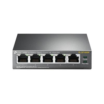 Εικόνα της Switch Tp-Link SF1005P v1 5 Port 10/100Mbps 4-PoE