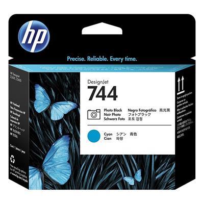 Εικόνα της Κεφαλή Εκτύπωσης HP No 744 Photo Black - Cyan F9J86A