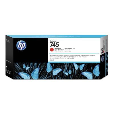 Εικόνα της Μελάνι HP No 745 Chromatic Red 300ml F9K06A