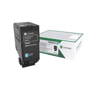 Εικόνα της Toner Lexmark CS727 / CS728 / CX728 Cyan Return Program 75B20C0
