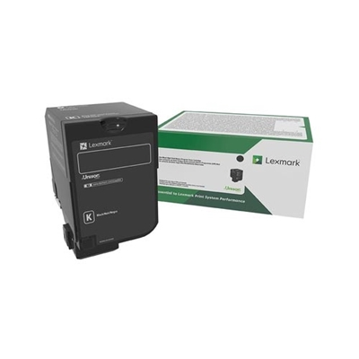 Εικόνα της Toner Lexmark CS/CX 827 Black Return Program 73B20K0