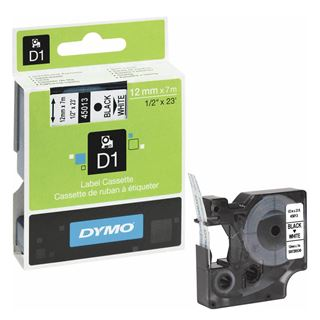 Εικόνα της Ετικέτες Dymo D1 Standard 12mm x 7m Black On White 45013 S0720530