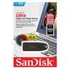 Εικόνα της SanDisk Ultra USB 3.0 128GB Black SDCZ48-128G-U46