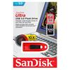 Εικόνα της SanDisk Ultra USB 3.0 64GB Red SDCZ48-064G-U46R