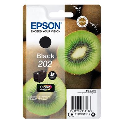 Εικόνα της Μελάνι Epson 202 Black C13T02E14010