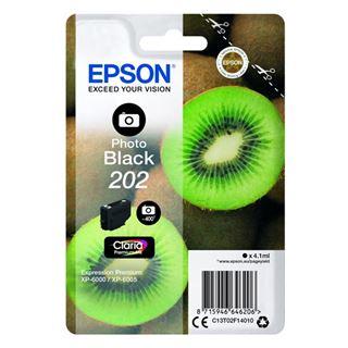Εικόνα της Μελάνι Epson 202 Photo Black C13T02F14010