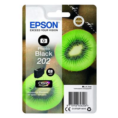 Εικόνα της Μελάνι Epson 202 Photo Black C13T02F14020