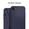 Εικόνα της Θήκη Spigen iPhone 7 Liquid Air Armor Midnight Blue 042CS21189